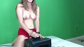 Lelu Love-WEBCAM: Sybian Riding Double Orgasm