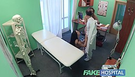 Fake Hospital Lucky doctor has hot threesome with sexy Czech babes