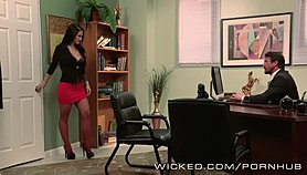 Wicked - Katrina Jade gets fucked by her boss