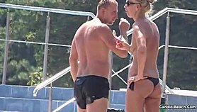 Sexy Bikini Cameltoe Girls at The Pool Voyeur HD Video Xnxx.com