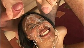Cum shower compilation for black girl