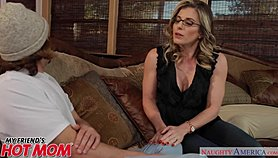 Horny MILF Cory Chase sits on her son's friend's face - Naughty America Xnxx.com