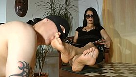 Foot Goddess Leyla - Worship Your Mistress Porn Videos