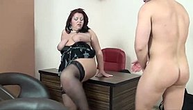 BBW Sandy, young but serious! Xnxx.com