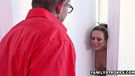FamilyStrokes - Hot Milf Fucks Nerdy Step-Son On Vacation Xnxx.com