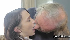 Kissable schoolgirl is seduced and banged by her aged schoolteacher XXX Porn