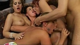 lucky italian bastard with five hot escorts