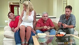 Brazzers - Stepmom takes some young cock