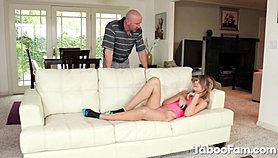 Attractive Teen Boned by Her Pissed Off Stepdad