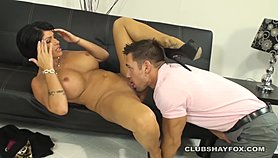 Shay fox gets some help from young huge cock to help fix her love life