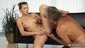 Old mom first time Sex with her boyboss�s father after swimming pool