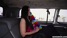BANGBROS - La TГ­a gets on the bus