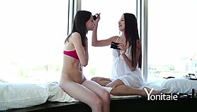 Yonitale: soft erotica with 2 stunning teens Ariel (Lilit A) and Paula Shy
