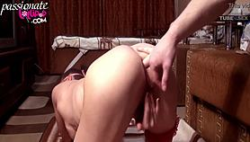 Sexy milf rough jerk off vagina and anal - intensive orgasm