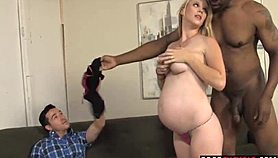 A bbc for pregnant hotwife hydii may while cuckold watching